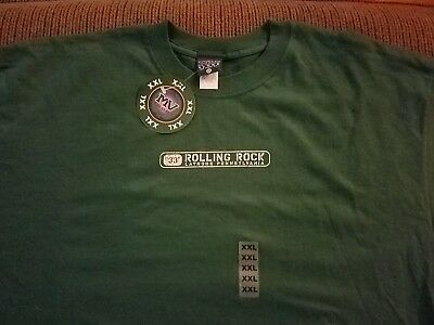 New with Tags Long Sleeve Rolling Rock Beer T-Shirt