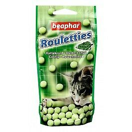 Beaphar Friandises Rouletties herbe à chat 44.2 grs