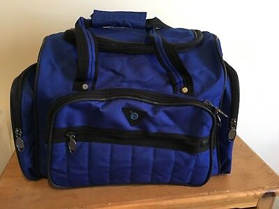 2x CARRY ON BAG - blue