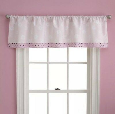 Set Of 4 Too Good By Jenny McCarthy Pretty In Pink Window Valances