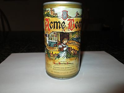 Acme Beer Can General Brewing Co. San Francisco Great Condition Bottom Opened
