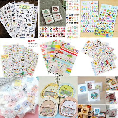 DIY Calendar Scrapbook Album Diary Book Decor Paper Planner Sticker Craft New
