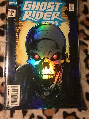 Ghost Rider 2099 #1 Embossed Cover