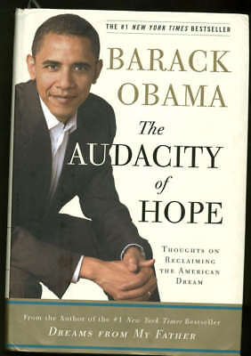 President Barack Obama Signed Autographed Audacity Of Hope 1st Edition JSA