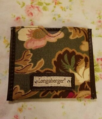 longaberger purse mirror used excellent