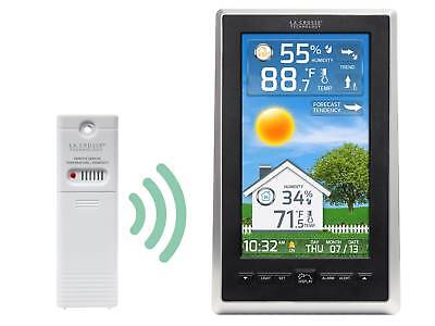 S88785 La Crosse Technology Wireless Color Weather Station with TX143TH Sensor