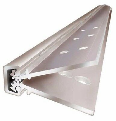 """Continuous Hinge ABH concealed, geared hinge a240hd 83"""" 628 finish Heavy Duty"""