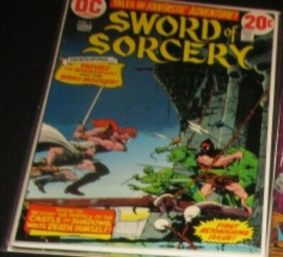 Sword of Sorcery #1 DC (1973) Bronze Age Comic FN+/VF- (Fafhrd & Gray Mouser)