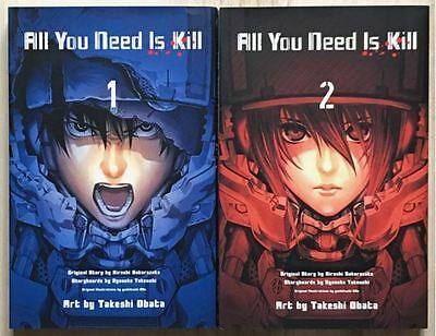 All You Need is Kill Vol. 1-2 complete lot Manga Japanese comic Death Note