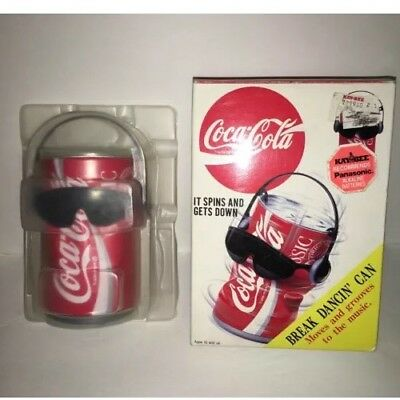 Vintage Coca Cola Dancing Can Classic Coke Break Dancin'