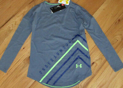 Under Armour Dazzle long sleeved tee shirt NWT UPICK S M L XL girls'