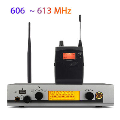 Professional In Ear Monitor System UHF Wireless Stage Monitor System 1 Receiver