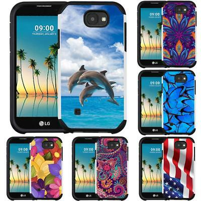 Slim Hybrid Armor Case for LG X Charge LG X Power2 X power 2 LG Fiesta
