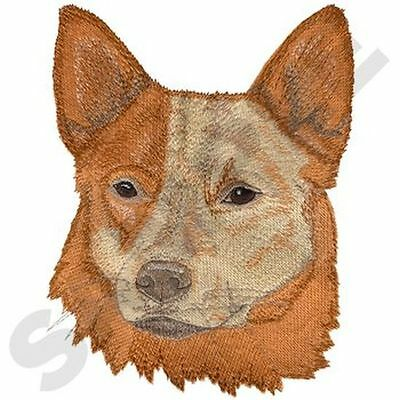 """Australian Cattle Dog, Embroidered Patch 5.7"""" x 7.6"""""""