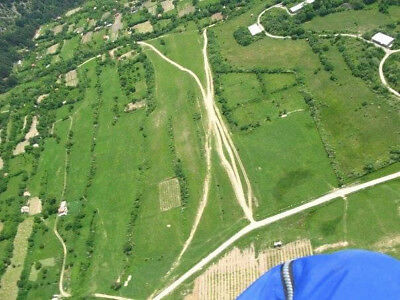 Land for sale in Sopot Bulgaria. Perfect for paragliding school.