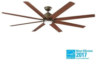 72 ceiling fan with light clear glass light 72 in extra large led indoor outdoor ceiling fan light remote porch patio bronze in extra