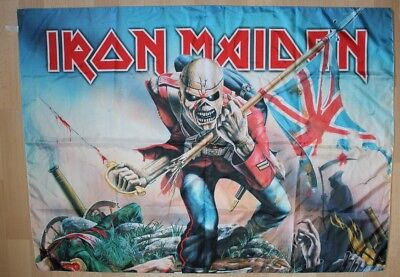 Iron Maiden, The Trooper, Fahne, Flagge, Banner, 2005