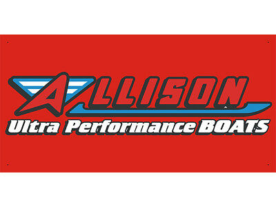 Advertising Display Banner for Allison Ultra Performance Boats
