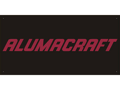 Advertising Display Banner for Alumacraft