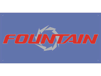 Advertising Display Banner for Fountain