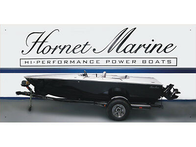 Advertising Display Banner for Hornet Marine