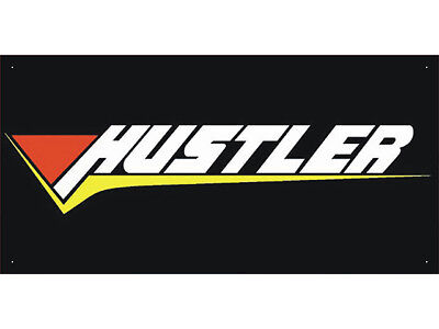 Advertising Display Banner for Hustler