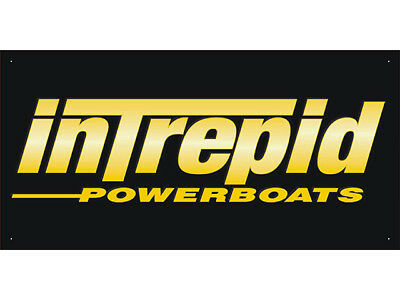 Advertising Display Banner for Intrepid Power Boats