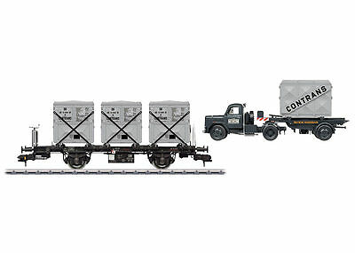 Märklin 58472 1 Gauge Container Transport Cars Set BT 10 DB# NEW ORIGINAL