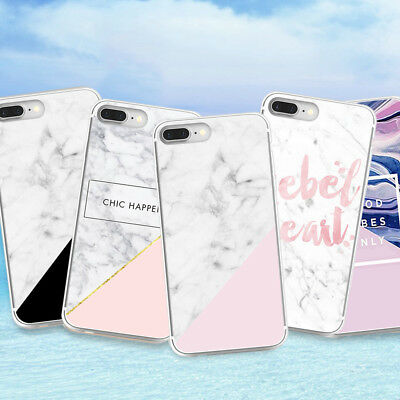 Pattern Marble Soft Silicone Phone Case Cover For Samsung Galaxy S7 edge iphone