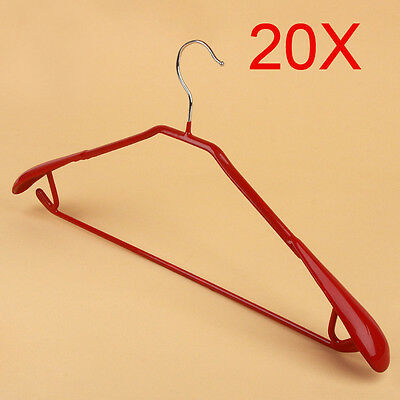 New S 45 CM Red Non-Slip Hanger Hook Wholesale Lots 20 PCS