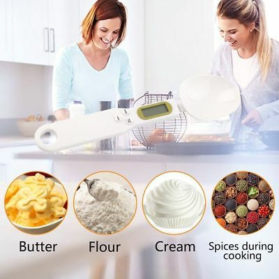 500/0.1g Digital LCD Measuring Food Kitchen Lab Electronic Spoon Weight Scale
