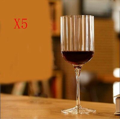 New 5X Capacity 400ML Height 220MM Creative High Foot Red Wine Glass/Glassware %