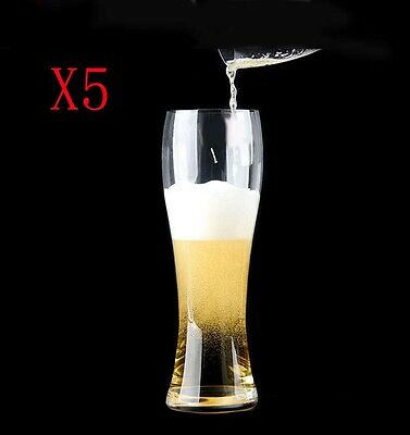 New 5X Capacity 685ML Height 243MM Super Large Beer Wine Glass/Glassware %