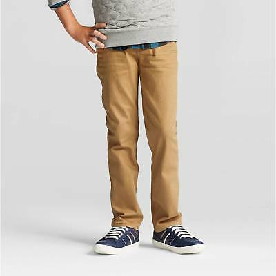Boys' Straight Fit Jean - Cat & Jack™ Khaki Wash