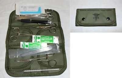 US Surgical Set 12tlg Neu Medical Corps OP Set Army Operationsbesteck First Aid
