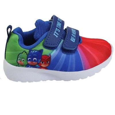 PJ Masks KIDS SHOES trainers official  sizes 6-12 Girls/Boys New