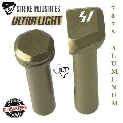 Strike Industries ULTRA LIGHT Enhanced Extended TakeDown Front&Rear Pins FDE/Tan