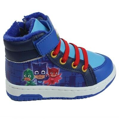 PJ Masks Shoes Flashing  LED Blue trainers official sizes 6-12 Girls//Boys New