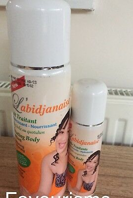 L'abidjanaise Treating Body Lotion 500ml And Serum 125ml