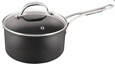 NEW TEFAL JAMIE OLIVER NEW WAVE ANODISED INDUCTION SAUCEPAN 18cm 2.1L COOKWARE