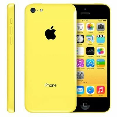 Brand New Boxed Apple iPhone 5C 16GB Unlocked Factory Smartphone yellow