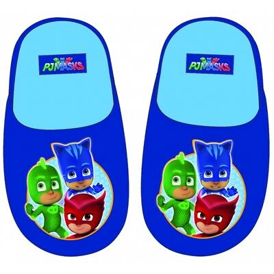 Pj Masks Character Slippers /OFFICIAL Full LICENSED  Boys/Girls size  6-12 New
