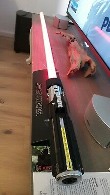master replicas 2005 lightsaber force fx Darth Vader - Lichtschwert Star Wars