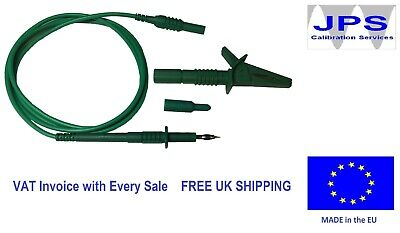 Electrical Test Lead Earth Bond Probe and Croc Clip PAT Testers  JPSS156 pm15