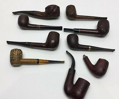 Lot of Vintage Tobacco Pipes, Assorted