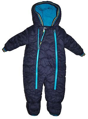 Ted Baker Baby Boy Snowsuit All In One Pram Suit Jacket 3-6 Months