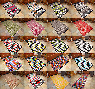 Small Medium Large Machine Washable Rugs Non Slip Cheap New Modern Floor Mat UK
