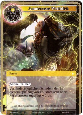 Force of Will TCG Karte #LEL-002 Amaterasus Weitblick