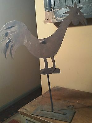 Antique Rooster Weathervane All Original
