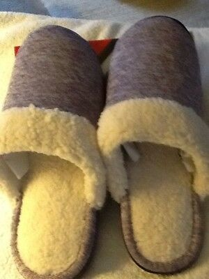 """NEW"" ISOTONER women's slippers size 8.5-9 color Purple Magic"